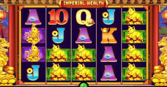 Imperial Wealth sur Casino777.ch